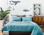 Vinyl Wall Sticker Decal Art - Whales