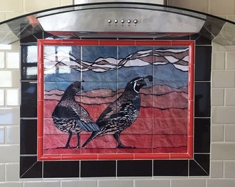 NEW Custom Tile Murals, Trivets, Coasters, and Wall Hangings