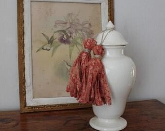 Vintage Fabric Tassels
