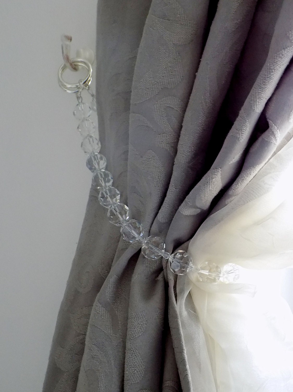 Swarovski Crystals Curtain Tie Back