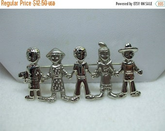 ON SALE 20% OFF We Are The Future... Children Ajc Brooch
