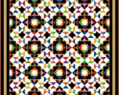 """ULTIMATUM - 83.5""""x 83.5"""" Queen or 66""""x 66"""" Double - Quilt-Addicts Pre-cut Quilt Kit or Finished Quilt"""