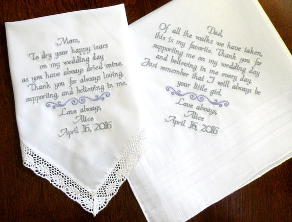 Wedding Day Gifts For A Bride : Wedding Day Thank you Wedding Favor Gifts Mother & Father of the Bride ...