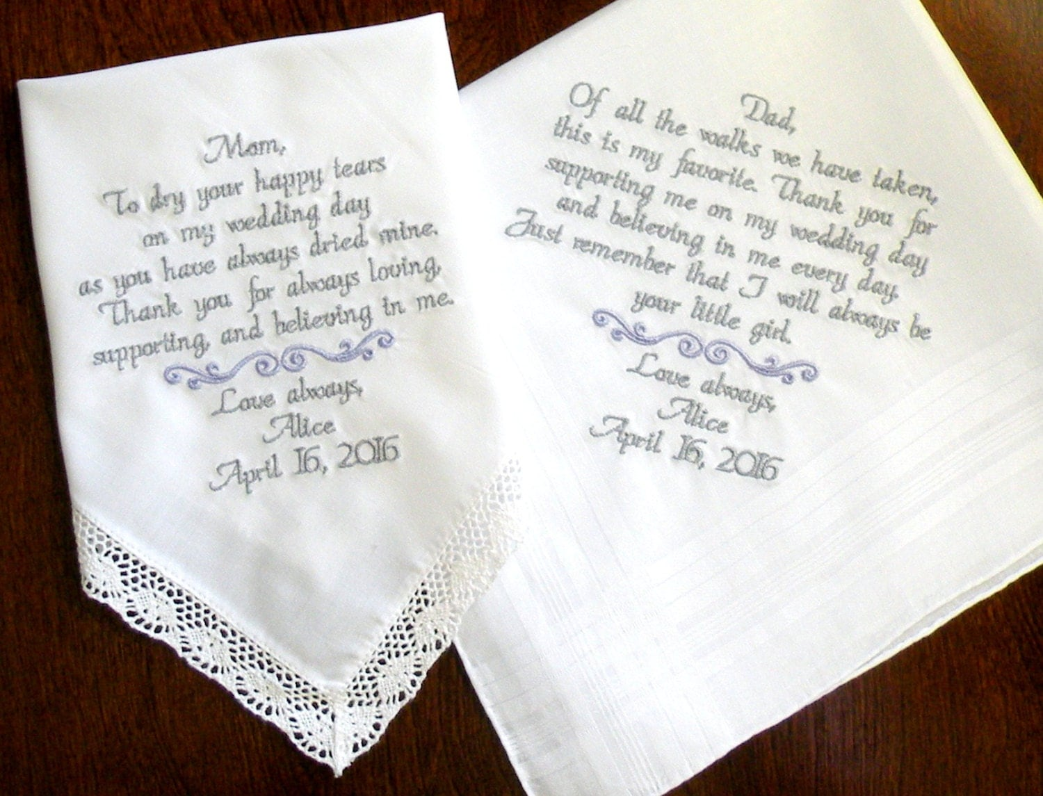 Gifts On Wedding Day For Bride: Wedding Day Thank You Wedding Favor Gifts Mother & Father