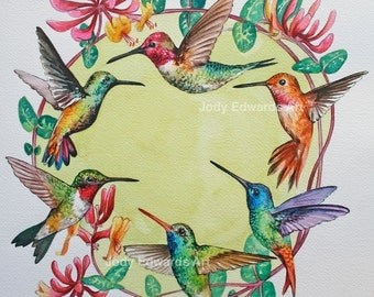 Hummingbird Circle