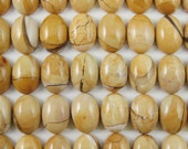 Cabochon Gemstone-Brecciated Mookaite-Oval Cabochon- Loose Cabochon-Gemstone Cab-Genuine Semi Precious Beads-Grade A+, 14x10mm-308103-BRM-10