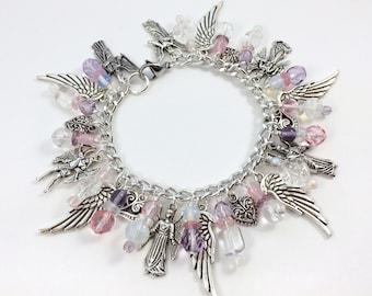 Guardian Angels Charm Bracelet