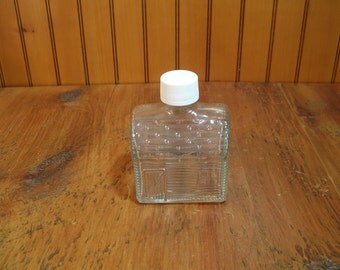 Vintage Log Cabin Bottle