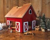 Kids Hardwood Toy Barn