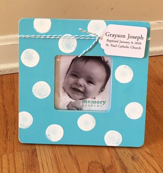 Baby Gift Announcement : Personalized baby frame gift birth announcement