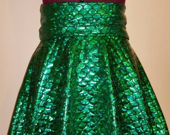 Child size mermaid skirt