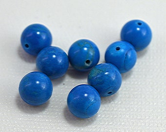 Turquoise (howlite, dyed), 19mm - #1881