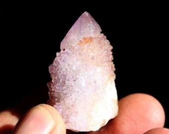 Amethyst Fairy Spirit Quartz Cactus Quartz Crystal Cluster