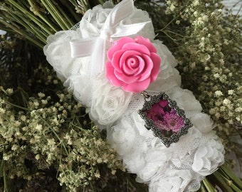 Bouquet Charm with Flower