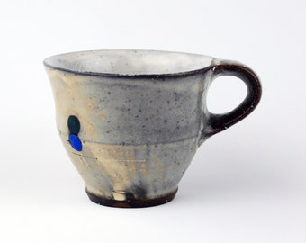 Mug with Blue Circles