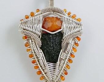 Moldavite Crest