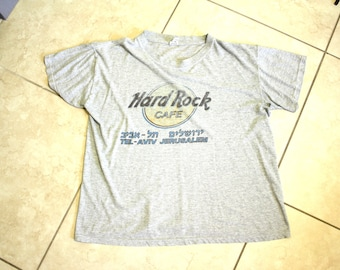 Super Thin T-Shirt / Hard Rock Tel Aviv Jerusalem Tee