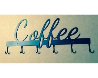 Coffee Cup Rack 6 Hook