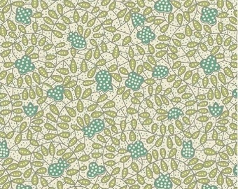 Tiffany 33587 in green - sold by the yard
