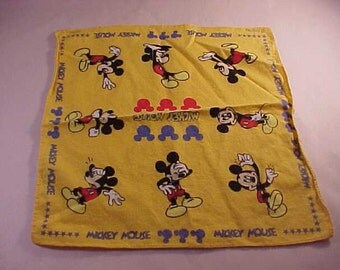 Disney Mickey Mouse Handkerchief