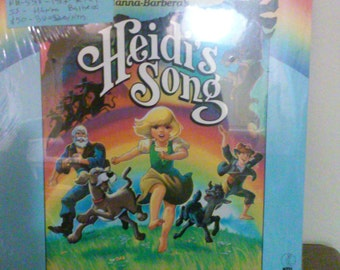 Heidi Song Vinyl record - Motion Picture Sound Track - Original - Still Sealed Wow - Vintage Record  Lp in Mint Condition