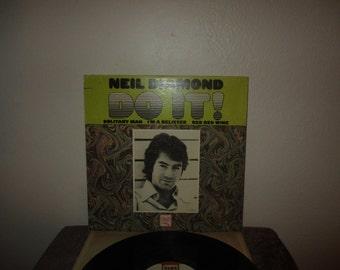 Neil Diamond vinyl - Original - Do It!  - Original Lp in Excellent Condition