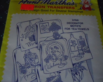 Aunt Marthas Hot Transfers 2 for 5 Dollars