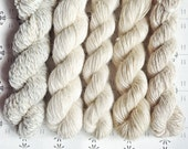 "Fairies dancing in the haze - ""Once upon a time"" collection of handspun yarns"