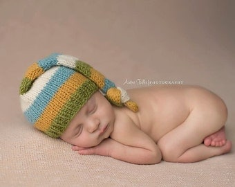 The Night Cap - Newborn Size, Made To Order