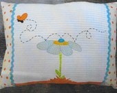 Applique Pillow, Home Decor, Spring Decor, Butterfly Flutters By, Maudie's Cottage Designs, Joan Davis, PATTERN ONLY