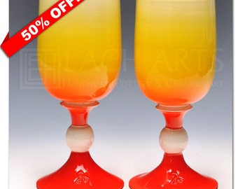 "50% OFF - ""Atomic"" White Wine Chalice"
