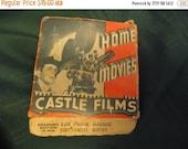 Valentines Sale Pearl harbor home movie film roll, castle films, NORMANDIE BURNS, vintage, collectable, 16mm, headline edition