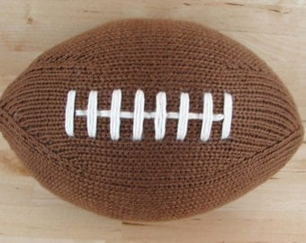 Large Hand-Knit Football