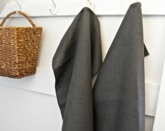 Gray Linen Towel, Linen Towel, Linen Kitchen Towel, Rustic Linen Towel, Linen Tea Towel