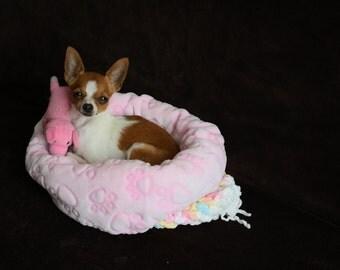 Pink Mini Sleeping bag for small dogs