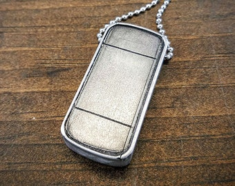 Bourne Indentity Pill Case Necklace Pendant Keychain Metal indestructible flash memory storage Cool Gift - Bourne Dog Tag