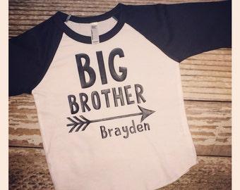 Big brother lil brother big sis lil sister custom shirt