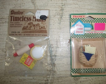 Doll House Kitchen Miniatures