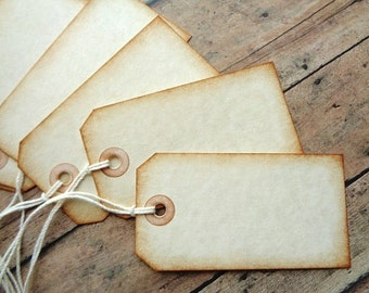 Rustic Blank Tags Weddings Place Cards Escort Card Favor Merchandise Tag
