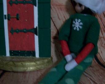 Christmas Elf Snowflake Pajamas