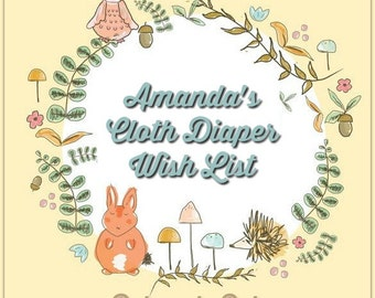 Amanda's Cloth Diaper Wish List October 2016 Baby Boy!