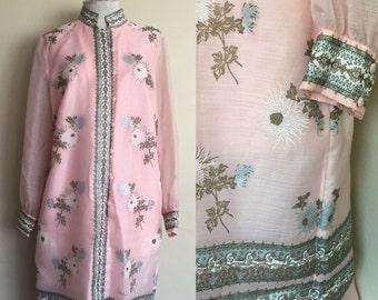 Alfred shaheen 1970's dress