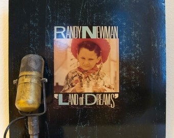 """Randy Newman Vinyl Record Album LPs 1980s Rock and Roll Pop Humor Cynical Witty Singer Songwriter Childhood """"Land Of Dreams"""" (1988 Reprise)"""