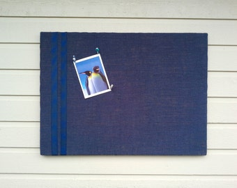 Burlap PinBoard, Burlap and Lace or ribbon Wedding Pin Board, Large Custom Country Chic, MADE TO ORDER, office memo board