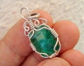 emerald necklace emerald pendant colombian emerald