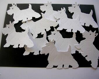 Scottie Dog Diecuts ; Iconic Scottish Image ; Scottish Terrier ; West Highland Terrier