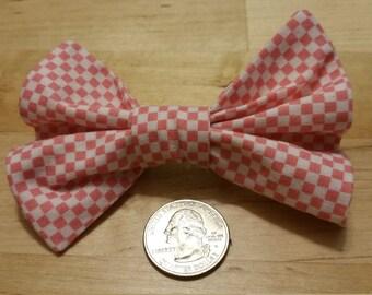 Fabric Hair Bows: Prints