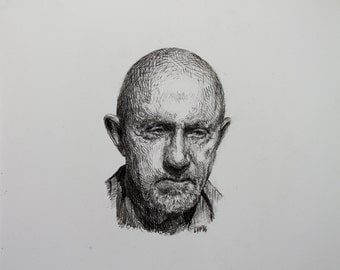 Mike Ehrmantraut, Original Drawing