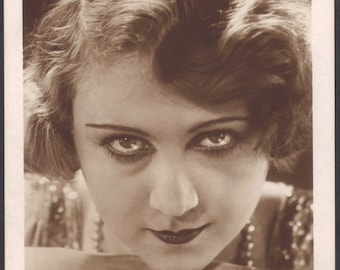 Weimar Era Berlin Silent Film Actress, Evi Eva, by Iris Verlag, circa 1920s