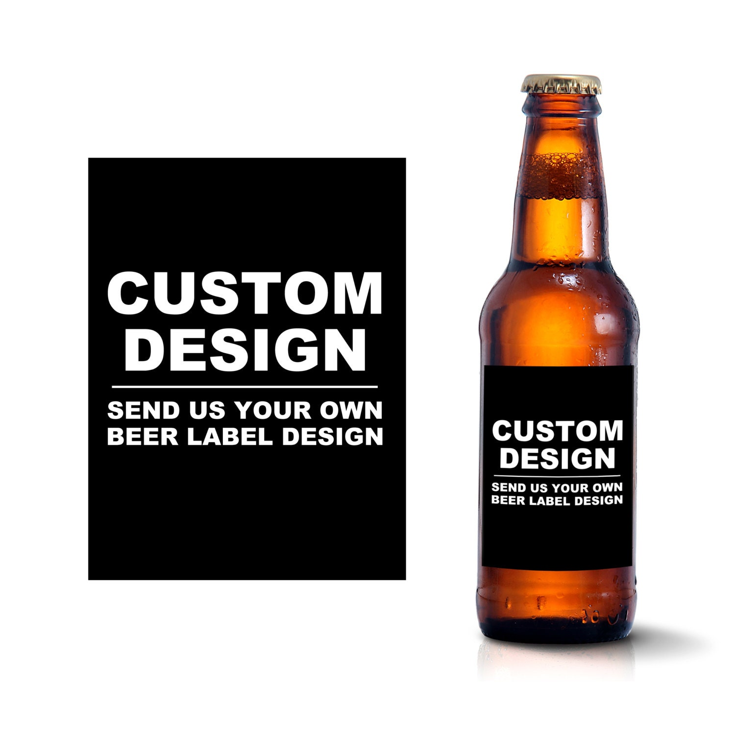 custom beer bottle labels create your own beer label design With beer with your own label